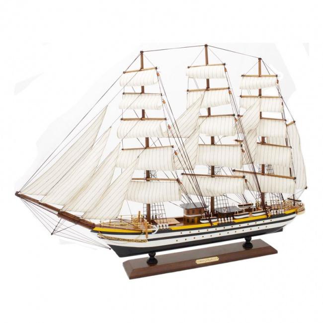 """Корабль """"Америго Веспуччи"""" ,88*61см"""