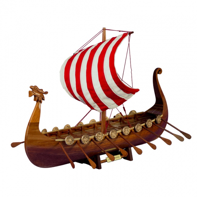Корабль викингов, 60см