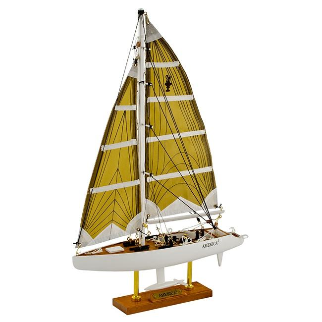 """Яхта """"America 3"""", 31*46*7 см"""