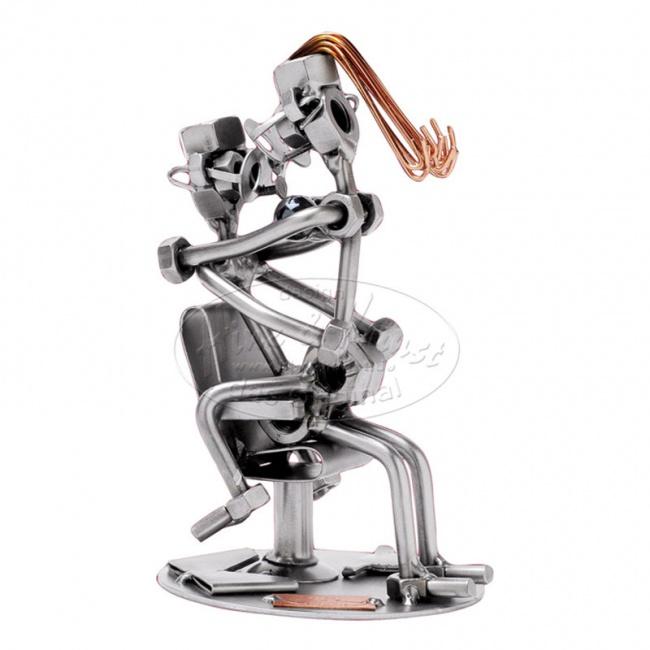 Любовь на стуле, h=17см