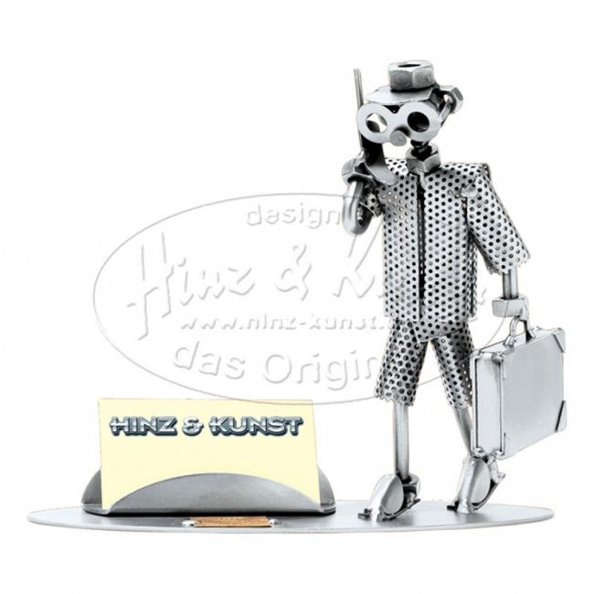 Бизнесмен, подставка для визиток