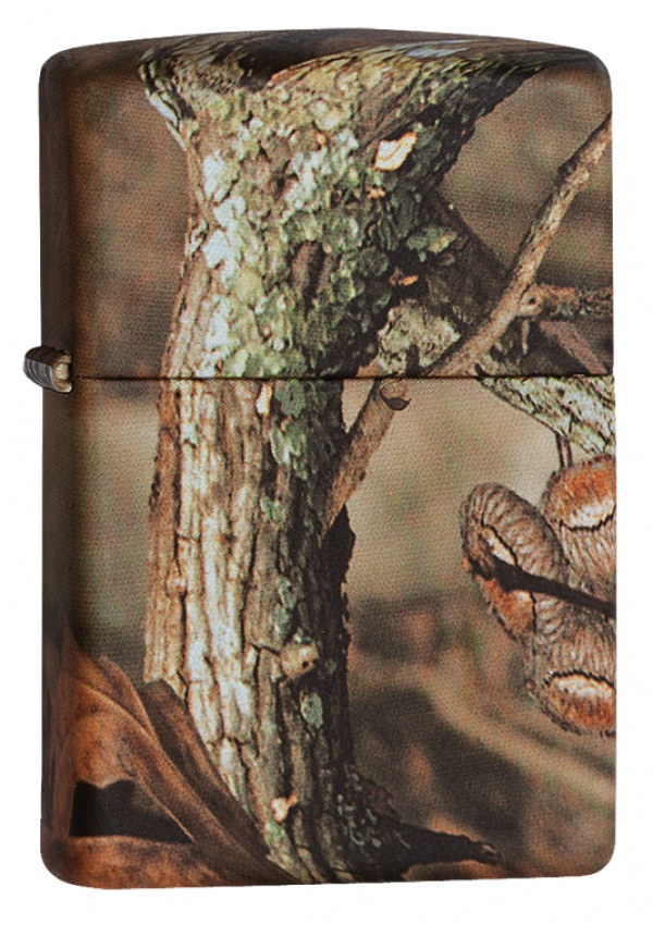 Зажигалка ZIPPO MOSSY OAK® BREAK-UP INFINITY, латунь/сталь, камуфляж, матовая, 36x12x56 мм