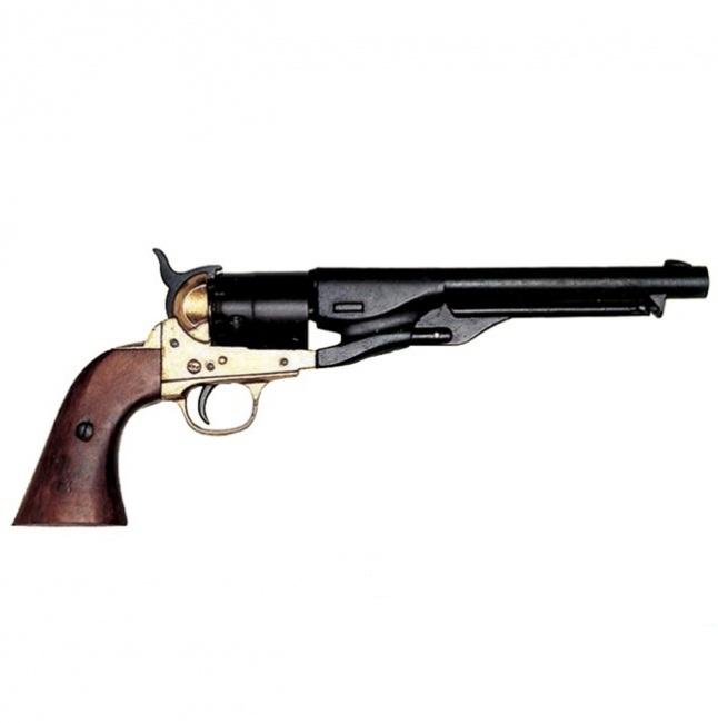 """Сувенирный револьвер """"Кольт"""" L=37 см, 1886 г. США, Гражданская война."""